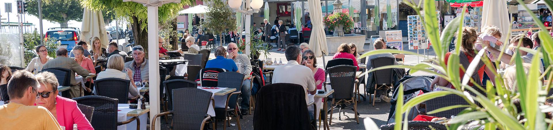 Terrasse Restaurant Le Léman Nyon